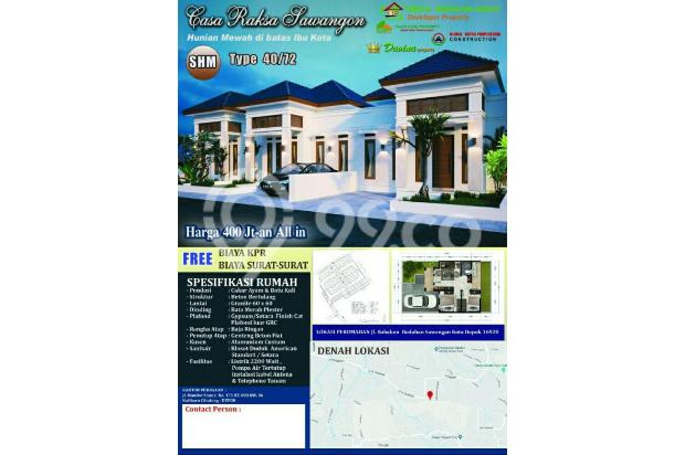 Free Semua Biaya-Biaya Di Sawangan Rumah, Mewah,Murah,No DP 16048543