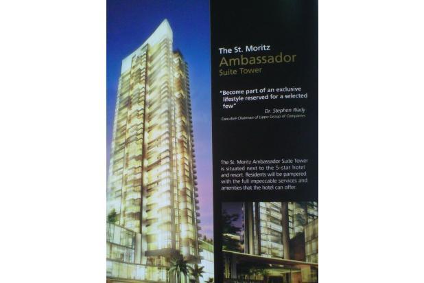 Disewa Apartement St.Moritz Tower Ambasador , Puri Indah , Jakarta Barat ,  3874194