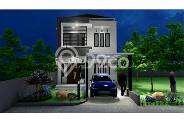 Rumah mewah dengan konsep Minimalis nuansa Asri 14370474
