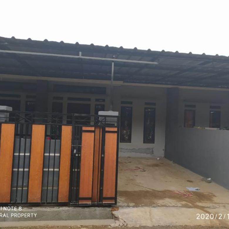 Rumah bebas banjir 100 Jt-an,Gratis pagar canopy:Rumah Murah