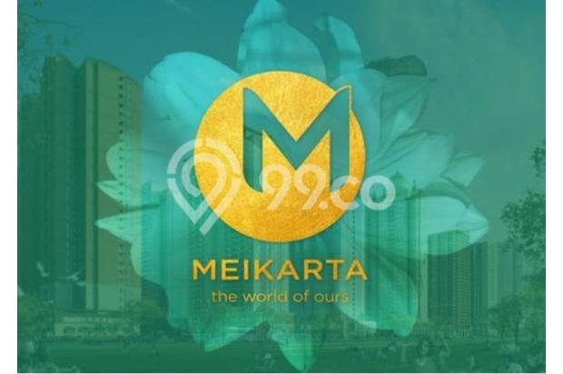 Dijual Apartemen 2BR Modern Nyaman Strategis di Meikarta Tower 1B Bekasi 13124150