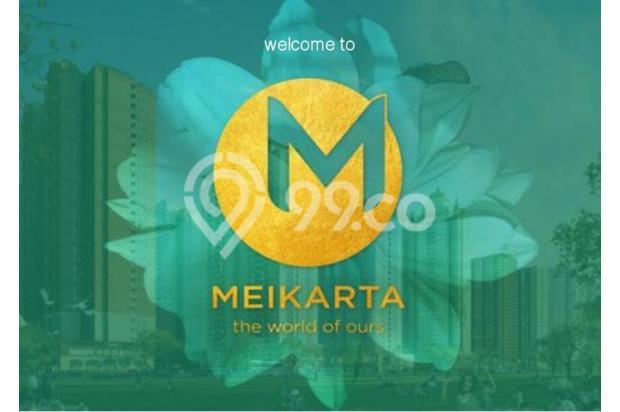 Dijual Apartemen 2BR Modern Nyaman Strategis di Meikarta Tower 1B Bekasi 13124163