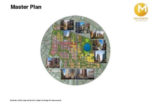Dijual Apartemen 2BR Modern Nyaman Strategis di Meikarta Tower 1B Bekasi 13124161