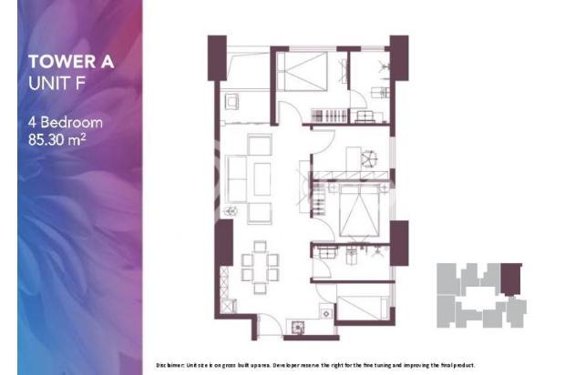 Dijual Apartemen 2BR Modern Nyaman Strategis di Meikarta Tower 1B Bekasi 13124201
