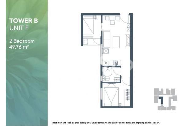 Dijual Apartemen 2BR Modern Nyaman Strategis di Meikarta Tower 1B Bekasi 13124204