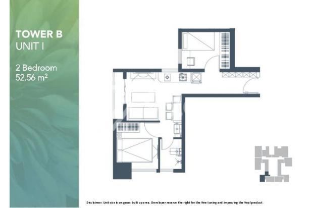 Dijual Apartemen 2BR Modern Nyaman Strategis di Meikarta Tower 1B Bekasi 13124217