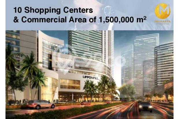 Dijual Apartemen 2BR Modern Nyaman Strategis di Meikarta Tower 1B Bekasi 13124240