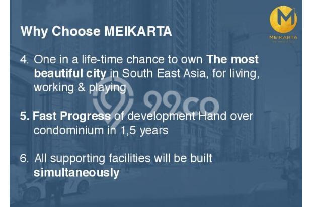 Dijual Apartemen 2BR Modern Nyaman Strategis di Meikarta Tower 1B Bekasi 13124267
