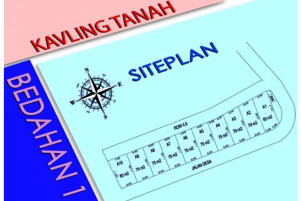 Kapling Tanah, Dekat Sekolah Alam Depok, ANGSURAN HINGGA 12 BULAN 18273922