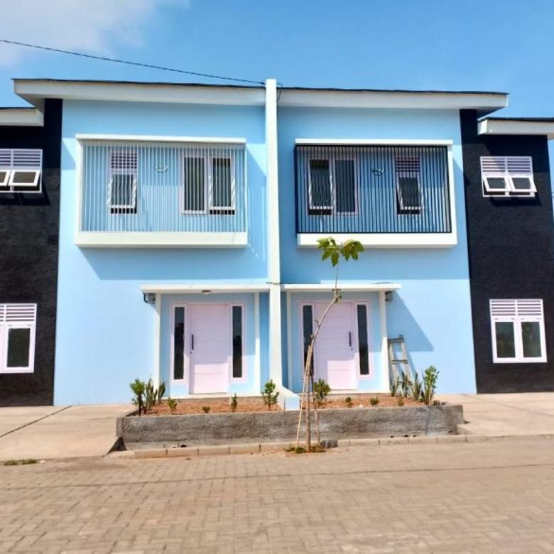 Rumah baru 2 lantai full praboot di Samata