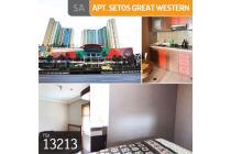 Apartemen Setos Great Western, Tower 1, Tangerang, 51 m², Lt 1
