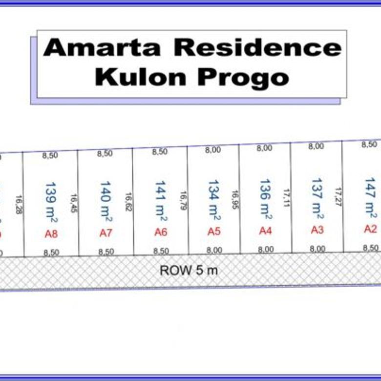 Kavling Kulonprogo, Dekat Jalan Wates, Cicil 12 X, NON BUNGA