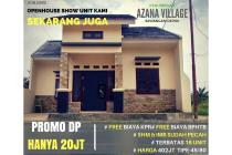 SEkarang Waktu yang Tepat beli Rumah : Azana Village DP 20Jt Free Bea-Bea