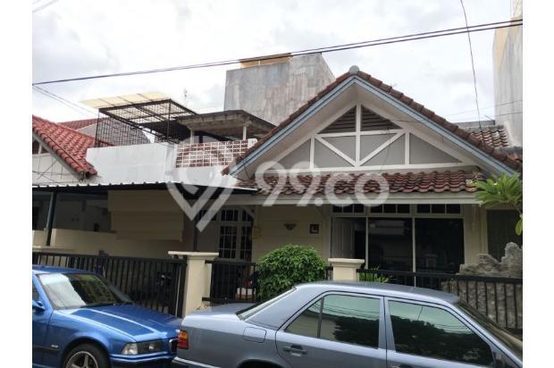 Rumah dijual di Komp. Citra Garden 2, Jakarta Barat, lokasi baik, dpn taman 17341921