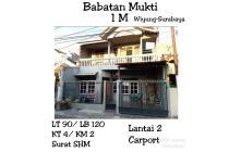 Rumah babatan mukti murah wiyung surabaya