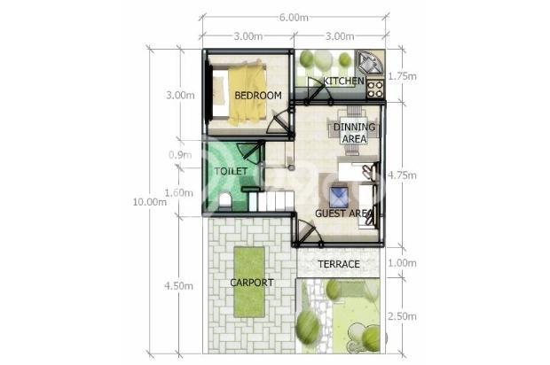 Rumah murah 17342444