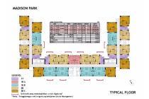 Jual Apartement Madison Park Tp 2BR Lantai Rendah View City Lantai Rendah