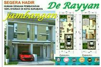 Rumah 2 lantai Jambangan Karah Unmer konsep syariah