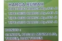"""Rumah Murah Satu2nya di BDG  Jauh Dibawah Hrg Pasaran """"PERMATA SOMPOK ASRi"""""""