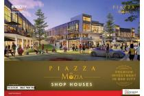 Ruko Piazza di kawasan the Mozia BSD City depan Cluster Amarine dan Piazza