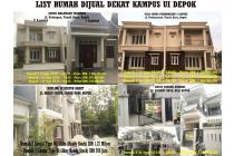 List Rumah 1-2 Lt Dijual Dekat Kampus UI Depok
