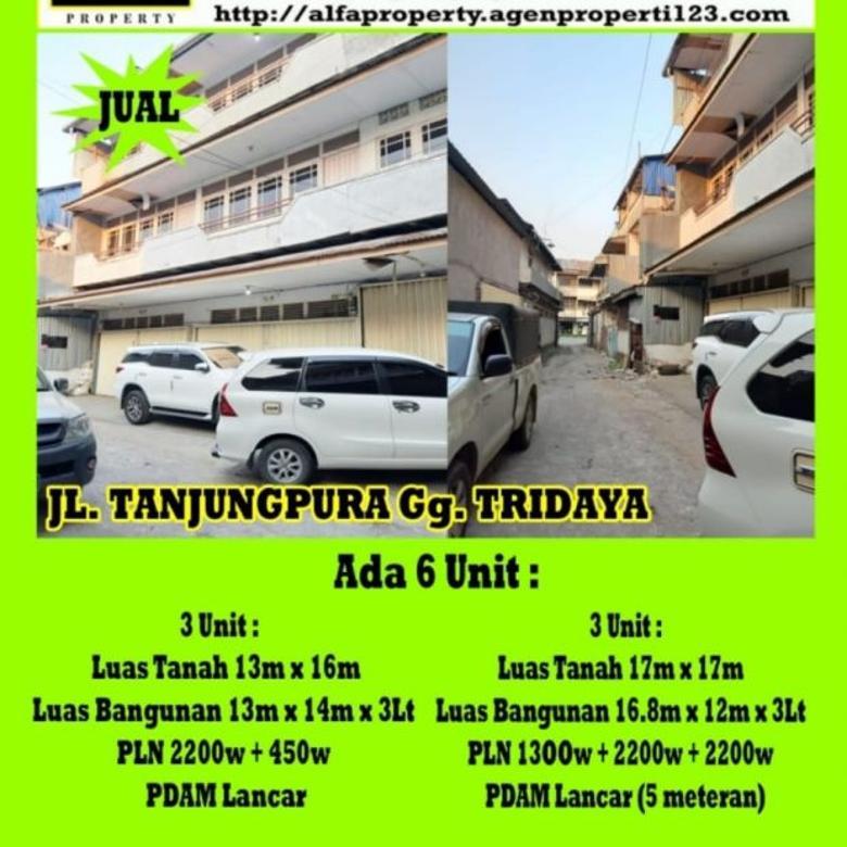 Tanjung Pura, Tridaya, Pontianak, Ruko Diskon Ratusan Juta