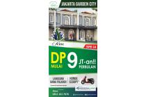 Rumah Baru hanya DP 9 juta Jakarta Garden City Cakung