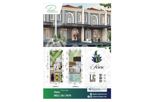 Rumah Baru hanya DP 9 juta Jakarta Garden City Cakung 20623633