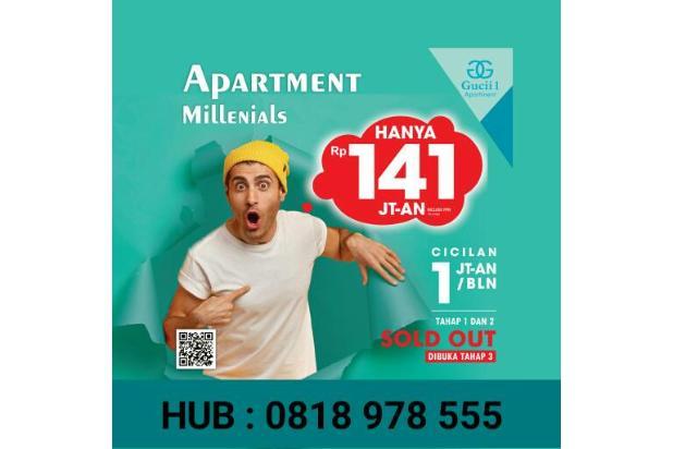 Rp141jt Apartemen Dijual