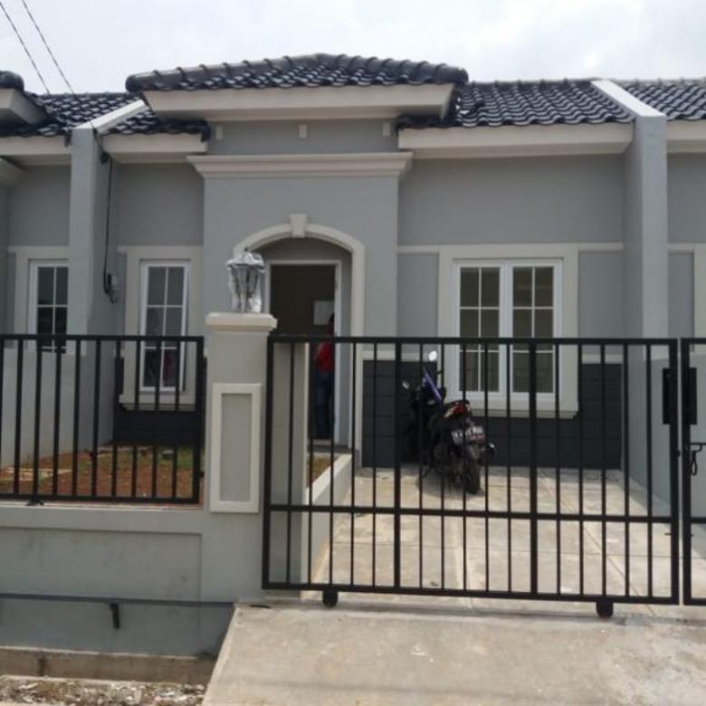 Dijual rumah diover kredit minimalist modern mediterania di bo