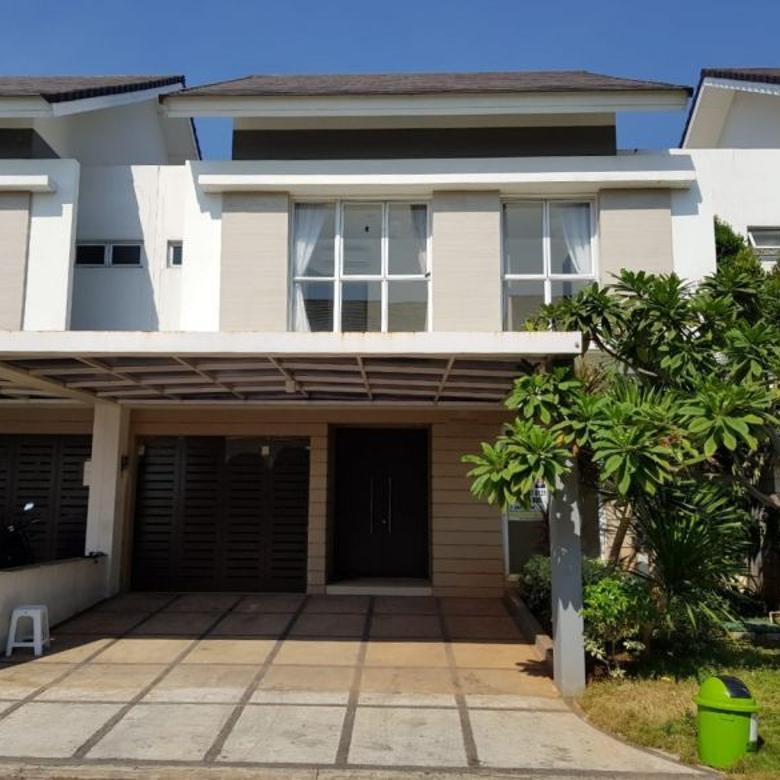 Rumah lebar 10 (10x22) 4 kamar tidur, di cluster palm spring (terbaik di JG