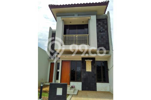 HANYA SATU  Rumah 2 lantai LT/LB 112/112  Cukup  850 juta 14317600