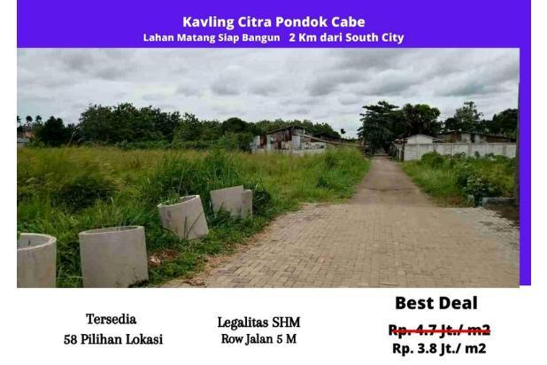 Rp463jt Tanah Dijual