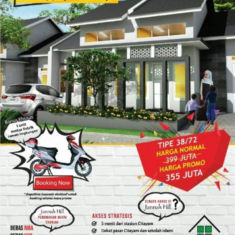 Mau Rumah Yang di Apit 2 Stasiun Bojonggede dan Citayam ?