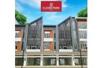 Ruko Cleon Park Brand New 3lt 5x15 75m hadap jalan utama JGC Jakarta Garden City Cakung