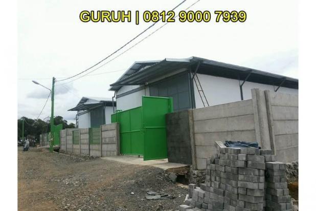 Gudang untuk Industri/Pabrik Makanan, Akses Mudah dekat BSD dan Bogor 9840762