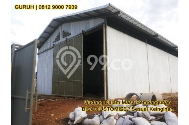 Gudang untuk Industri/Pabrik Makanan, Akses Mudah dekat BSD dan Bogor 9840767