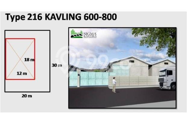 Gudang untuk Industri/Pabrik Makanan, Akses Mudah dekat BSD dan Bogor 9840769
