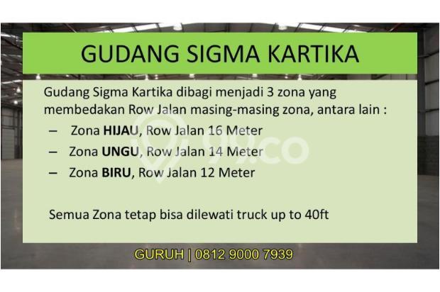 Gudang untuk Industri/Pabrik Makanan, Akses Mudah dekat BSD dan Bogor 9840771