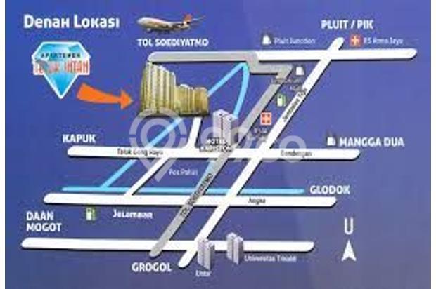 Di Sewa Apartemen Teluk Intan Lantai 7 Jakarta Utara 13244102