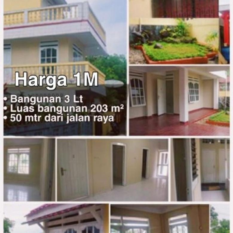 Dijual rumah 3 lantai
