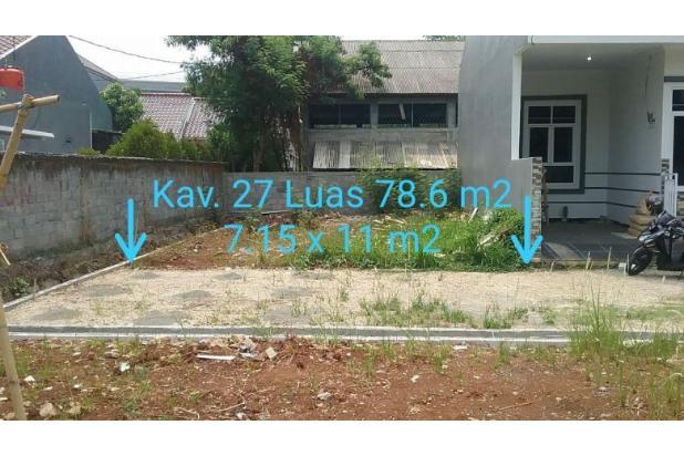 Rp415jt Tanah Dijual