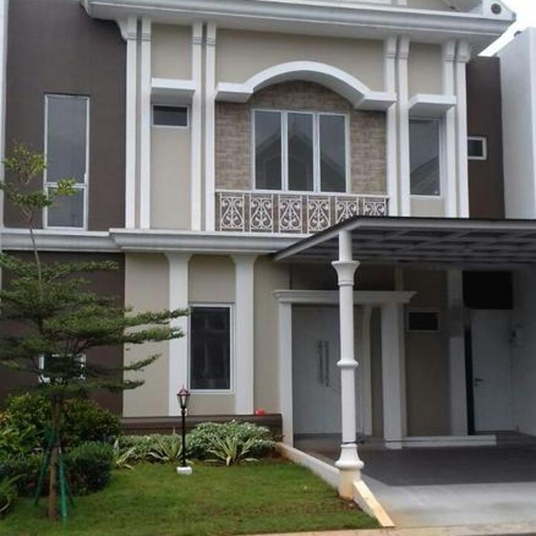 Termurah!! Rumah 2 Lantai luas 10x17 Type 4KT Cluster JGC Jakarta Garden City