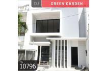 Rumah Green Garden, Jakarta Barat, Brand New, 8x18m, 2 Lt