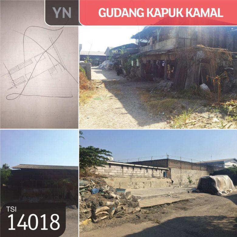 Gudang Kapuk Kamal, Jakarta Barat, 2000 m²,SHM