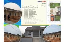 rumah cicilan murah di cluster alifia DP0% free biaya