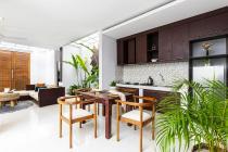 Mediteranian style Villa at Kerobokan 2 bedrooms ensuite full furnished