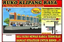 Dijual Ruko Murah Parkir Luas di Klipang Semarang