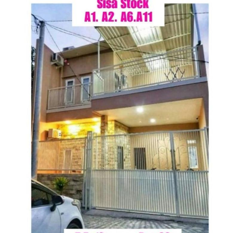 RUMAH DIJUAL: Rumah Manukan Indah Residence Tandes 2 Lantai
