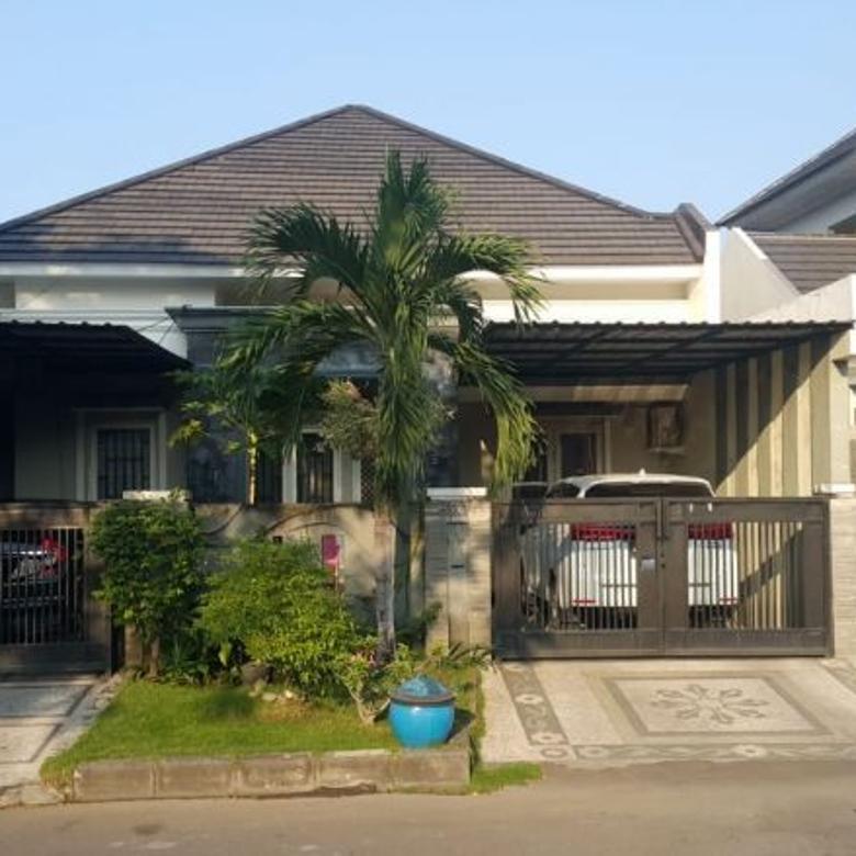 Rumah Purimas LEBAR, TERAWAT Nol Jalan Kembar (Carport 2)